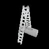 Kép 3/5 - KRAUSE Corda 3x9 Sokcélú létra lépcsőfunkcióval