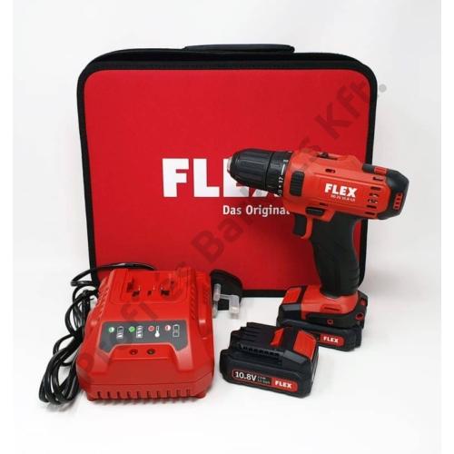 FLEX DD 2G 10.8 LD 2,5 Ah akkus fúró csavarozó