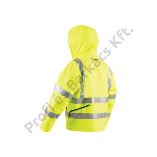 Makita CJ106DS 10.8V CXT Li-ion Fűthető kabát Neon