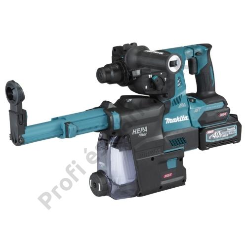 MAKITA HR001GM204 40V max XGT Li-ion BL AWS 2,8J SDS-Plus fúró-vésőkalapács 2x4,0Ah