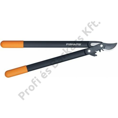 Fiskars PowerGear™ műanyag fogaskerekes ágvágó, ollós fejű (M) L76