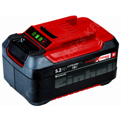 EINHELL 18V 5,2 Ah P-X-C Plus Akkumulátor