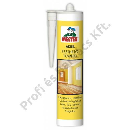 MESTER Akril Festhető Tömítő - 310 ml fehér