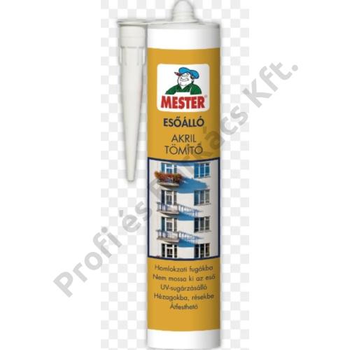 MESTER Esőálló Akril tömítő - 310 ml fehér