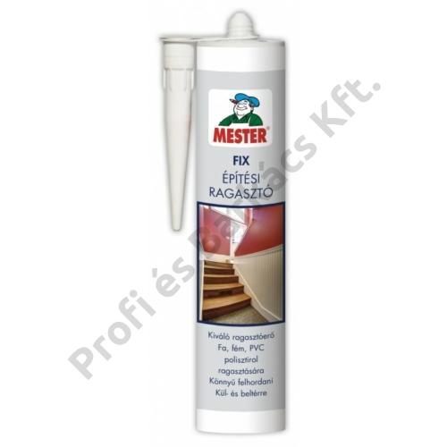 MESTER Fix Építési Ragasztó - 310 ml fehér