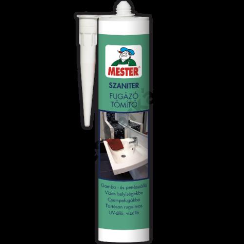 MESTER Szaniter Fugázó Tömítő - 310 ml fehér