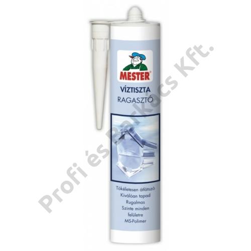 MESTER Víztiszta Ragasztó - 290 ml átlátszó