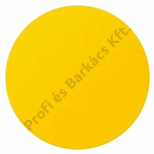 Csiszolópapír, 5 db, kerek, tépőzáras, 225 K80