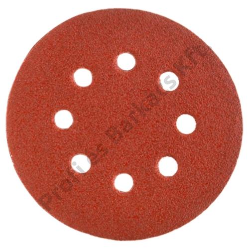 Csiszolópapír, 5 db, kerek, 125 K120, lyukas